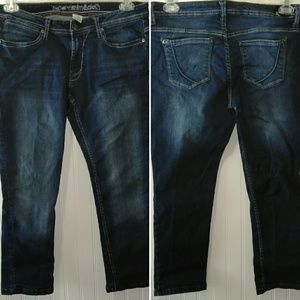 🌷Cropped paper denim cloth cropped jeans 10 30